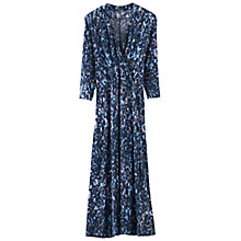 Buy Poetry Floral Print Jersey Dress, Dark Blue Online at johnlewis.com