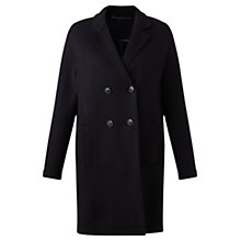 Buy Jigsaw Raw Edge Jersey Coat Online at johnlewis.com