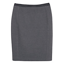 Buy Mango Flecked Pencil Skirt, Grey Online at johnlewis.com