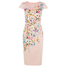 Buy Oasis Midnight Pencil Dress, Multi/Natural Online at johnlewis.com