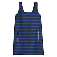 Buy Mango Striped Strap Dress, Navy Online at johnlewis.com