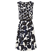 Buy Oasis Silhouette 2 in 1 Dress, Multi Black Online at johnlewis.com