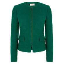 Buy Hobbs Sinead Jacket, Evergreen Online at johnlewis.com