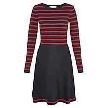 Buy Hobbs Samantha Striped Dress Online at johnlewis.com