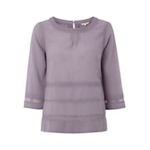 Buy White Stuff Empress Top, Lavender Online at johnlewis.com
