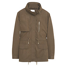 Buy Mango Military Style Trench Coat Online at johnlewis.com