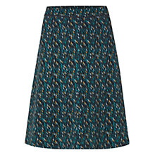 Buy White Stuff Chilston Raindrops Skirt, Brooklyn Blue Online at johnlewis.com