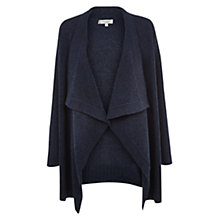 Buy Hobbs Stephanie Cardigan, Denim Blue Online at johnlewis.com