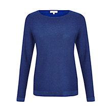 Buy Hobbs Elsie Jumper, Dark Cobalt Online at johnlewis.com