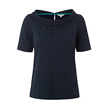 Buy White Stuff Cloud T-Shirt, Navy Online at johnlewis.com