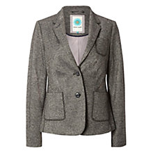 Buy White Stuff Hamilton Heights Tweed Blazer, Empire Grey Online at johnlewis.com