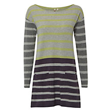 Buy White Stuff Colada Cotton Tunic, Feather Grey Online at johnlewis.com