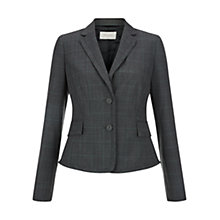 Buy Hobbs Montagu Jacket, Grey Mel Mint Online at johnlewis.com