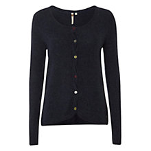 Buy White Stuff Knotty Cardigan, Navy Online at johnlewis.com