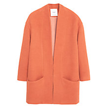 Buy Mango Cotton Coat Online at johnlewis.com