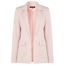 Buy Warehouse Tailored Ponte Jacket, Wild Aster Online at johnlewis.com