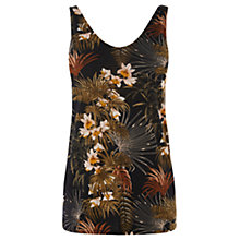 Buy Warehouse Tropical Palm Print Vest, Multi Online at johnlewis.com