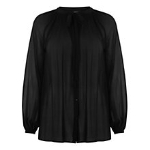 Buy Warehouse Pleat Detail Blouse Online at johnlewis.com