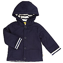 Buy John Lewis Baby Wadded Jacket, Navy Online at johnlewis.com