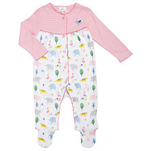 Buy John Lewis Baby Mix & Match Animal Sleepsuit, Multi Online at johnlewis.com