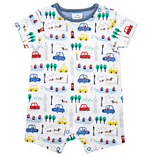 Buy John Lewis Baby City Short Romper Playsuit, Multi Online at johnlewis.com