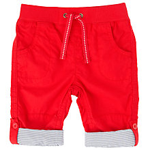 Buy John Lewis Baby Roll-Up Trousers Online at johnlewis.com