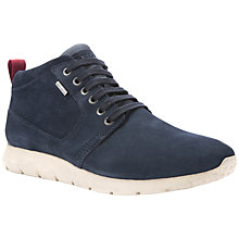 Buy Geox Gektor Amphibiox Waterproof Suede Hi-Top Trainers Online at johnlewis.com