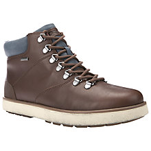 Buy Geox Mattias Amphibiox Lace-Up Boots, Light Brown Online at johnlewis.com