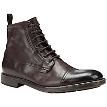 Buy Geox Jaylon Ankle Boots, Dark Brown Online at johnlewis.com