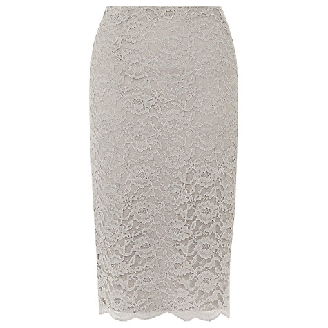 buy kaliko lace pencil skirt light grey lewis