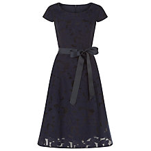 Buy Kaliko Burnout Floral Prom Dress, Navy Online at johnlewis.com