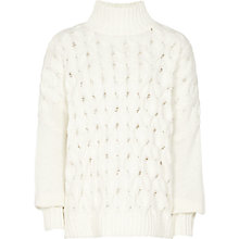 Buy Reiss Beatrix Jumper, Cream Online at johnlewis.com