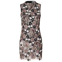 Buy True Decadence Lace Dress, Stone/Multi Online at johnlewis.com