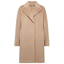 Buy Whistles Dara Cocoon Coat, Oatmeal Online at johnlewis.com