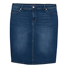 Buy Violeta by Mango Denim Pencil Skirt Online at johnlewis.com