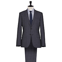 Buy Reiss Archer Check Modern Suit, Airforce Blue Online at johnlewis.com