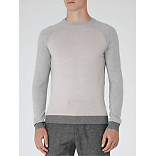 Buy Reiss Twister Colour Block Wool Jumper Online at johnlewis.com