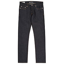Buy Reiss Vedder Raw Slim Jeans, Blue Online at johnlewis.com