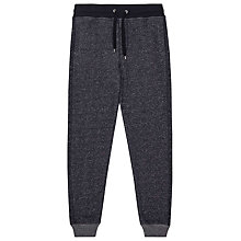 Buy Reiss Sigma Flecked Jogger Trousers, Blue Online at johnlewis.com