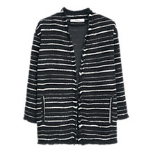 Buy Mango Waterfall Jacquard Jacket Online at johnlewis.com