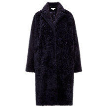 Buy Whistles Teddy Cocoon Coat Online at johnlewis.com