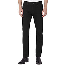 Buy Reiss Caledon Slim Jeans, Black Online at johnlewis.com