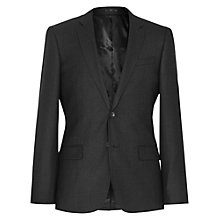 Buy Reiss Armstrong Check Slim Fit Suit Jacket, Charcoal Online at johnlewis.com