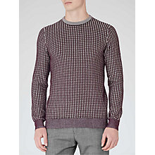 Buy Reiss Foal Contrast Weave Jumper Online at johnlewis.com