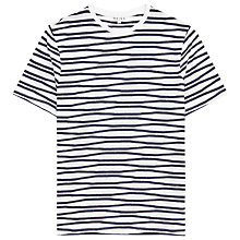 Buy Reiss Snoop Stripe Crew Neck T-Shirt Online at johnlewis.com