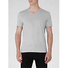 Buy Reiss Dayton Marl V-Neck T-Shirt Online at johnlewis.com