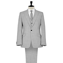 Buy Reiss Garda Peak Lapel Three Piece Suit, Grey Online at johnlewis.com