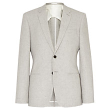 Buy Reiss Marsalis Flecked Modern Blazer, Grey Online at johnlewis.com