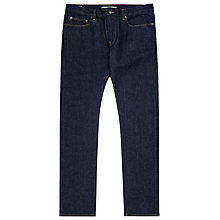 Buy Reiss Falls Raw Slim Jeans, Indigo Online at johnlewis.com