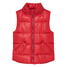Buy Mango Kids Boys' Quilted Gilet Online at johnlewis.com
